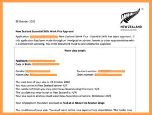 рабочая виза в Новую Зеландию